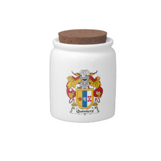 Quintero Family Crest Candy Dishes