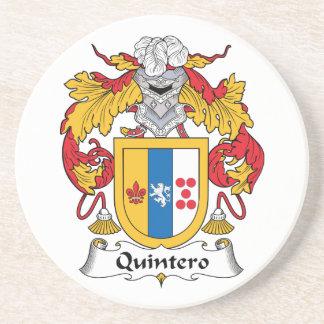 Quintero Family Crest Coaster