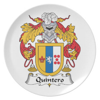 Quintero Family Crest Dinner Plates