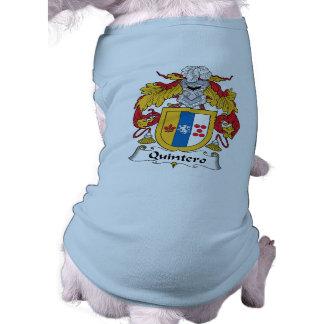 Quintero Family Crest Dog T Shirt