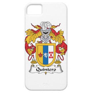 Quintero Family Crest iPhone 5 Cases
