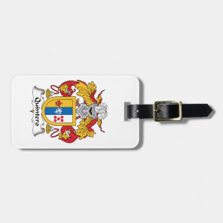 Quintero Family Crest Luggage Tags