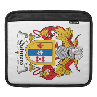Quintero Family Crest Sleeve For iPads