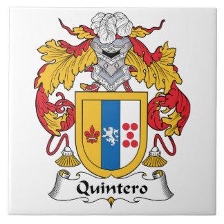 Quintero Family Crest Tile