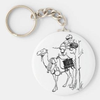Quintilla del camello de Hamel Llavero Redondo Tipo Pin