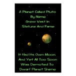 Quintilla enana de Plutón del planeta Impresiones