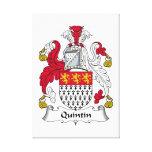 Quintin Family Crest Canvas Prints