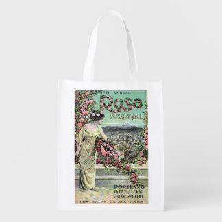Quinto anuncio color de rosa anual del festival bolsas para la compra