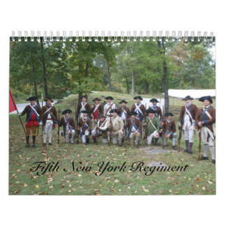 Quinto Nueva York calendario de 2012