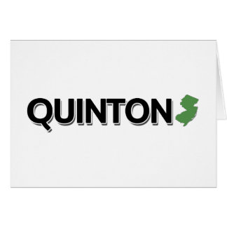 Quinton, New Jersey Card