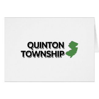 Quinton Township, New Jersey Card