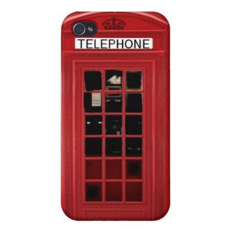 Quiosco inglés i iPhone 4/4S carcasas