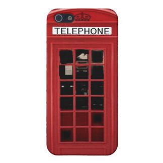 Quiosco inglés i iPhone 5 fundas