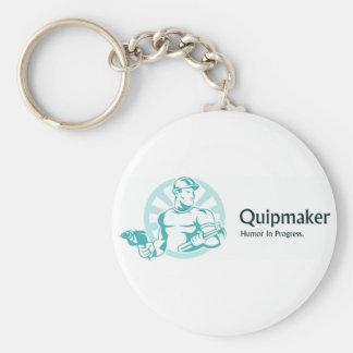 Quipmaker Llavero Redondo Tipo Pin