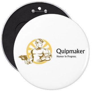 Quipmaker Pin Redondo De 6 Pulgadas