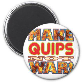 Quips Make X 2 Inch Round Magnet