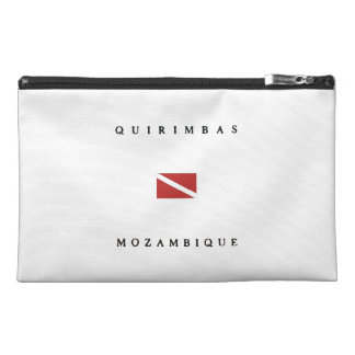 Quirimbas Mozambique Scuba Dive Flag Travel Accessory Bag
