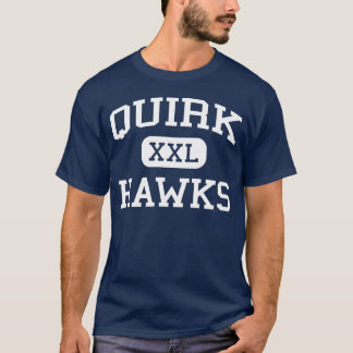 Quirk Hawks Middle Hartford Connecticut T-Shirt