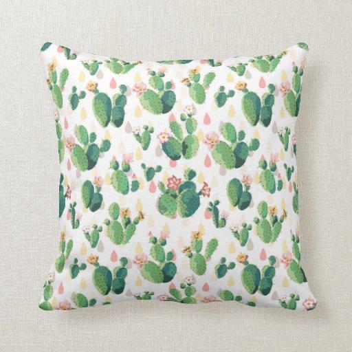 Qvc Throw Pillows : Quirky Cactus Garden Themed Pillow Zazzle
