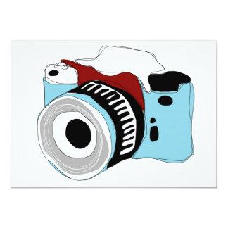 Quirky camera invite