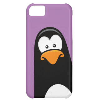 Quirky Cartoon Penguin Cover For iPhone 5C