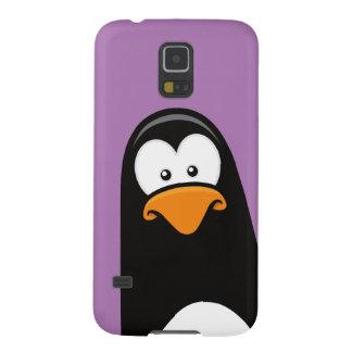 Quirky Cartoon Penguin Galaxy S5 Cover