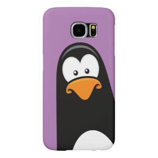 Quirky Cartoon Penguin Samsung Galaxy S6 Case