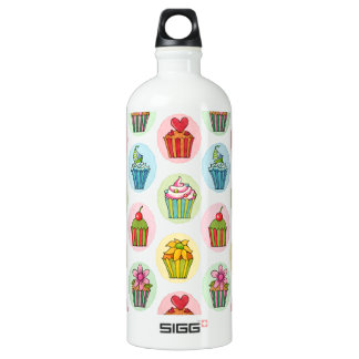 Quirky Cupcakes Custom Traveller (1.0L) Water Bottle
