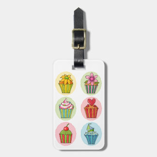 Quirky Cupcakes Luggage Tag