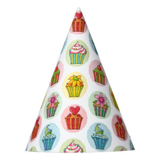 Quirky Cupcakes Party Hat