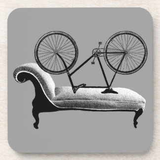 quirky cycling  gifts cycologist beverage coaster