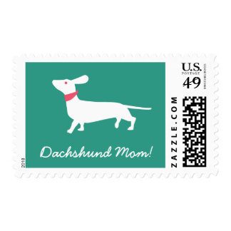 Quirky Dachshund Custom Stamp