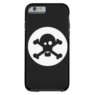 Quirky Death Skull Tough iPhone 6 Case