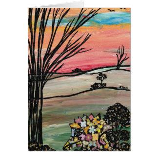 Quirky Echidna Card