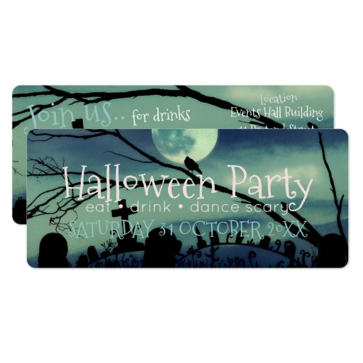 Quirky Halloween Party Invitations