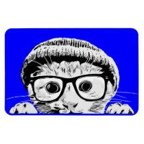Quirky Kitten 6x4 Magnet