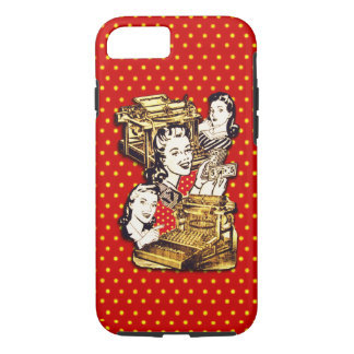 Quirky Office Gals iPhone 7 Case