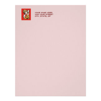 Quirky Office Gals Letterhead