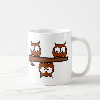 Quirky Owls Coffee Mug