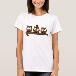 Quirky Owls - Dr T'Wit T'Who T-Shirt
