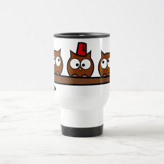 Quirky Owls - Dr T'Wit T'Who Travel Mug