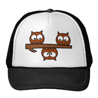 Quirky Owls Trucker Hat