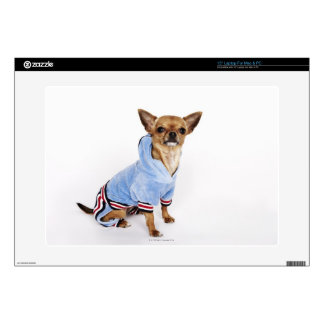 "Quirky portrait of a Teacup Chihuahua 2 Skin For 15"" Laptop"