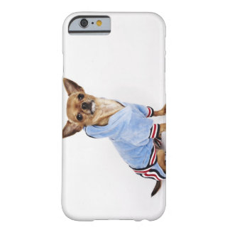 Quirky portrait of a Teacup Chihuahua Barely There iPhone 6 Case