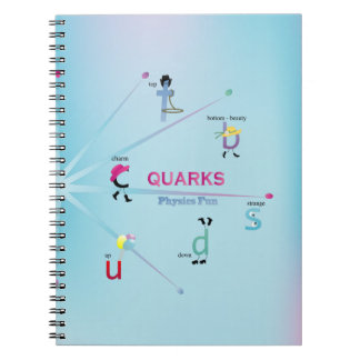Quirky Quarks Notebook
