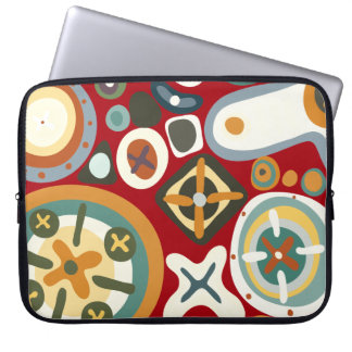 Quirky Shapes2 Laptop Sleeves