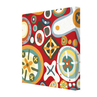 Quirky Shapes Canvas Print