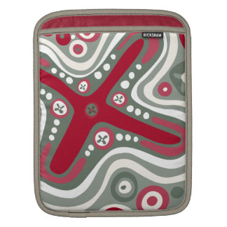 Quirky Shapes Sleeve For iPads