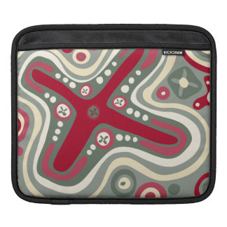 Quirky Shapes iPad Sleeve