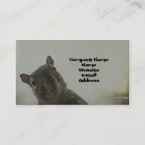 Quirky Squirrel Business Card